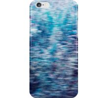 Blurred flowers iPhone Case/Skin