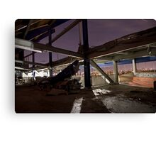 Shea Stadium Demolition Canvas Print
