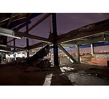 Shea Stadium Demolition Photographic Print