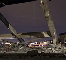 Shea Stadium Demolition by DariaGrippo