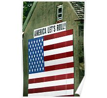 America Let's Roll Poster