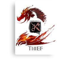 Guild Wars 2 Thief Metal Print