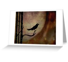 Singing bird ... Greeting Card