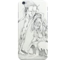 Elephantasia Fantasy Drawing iPhone Case/Skin
