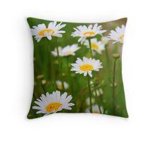 Upsey Daisy Throw Pillow