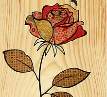 rose red by Narelle Craven