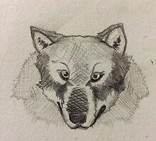 Wolf head by SearchforUtopia