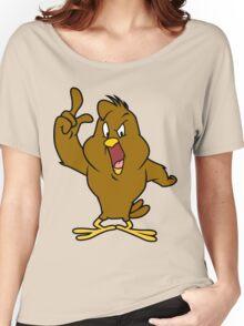 Henery hawk yelling Funny Geek Nerd Women's Relaxed Fit T-Shirt