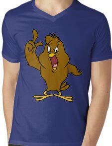Henery hawk yelling Funny Geek Nerd Mens V-Neck T-Shirt