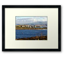 Autumn Morning-Margaree Harbour Framed Print