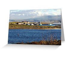 Autumn Morning-Margaree Harbour Greeting Card