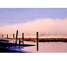 Misty River Photographic Print