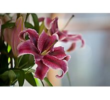 Wedding flower Photographic Print