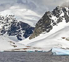 Landscape of Cuverville Island, Antarctica by PhotoStock-Isra