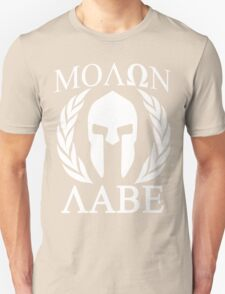 Molon Labe Grunge Spartan Funny Geek Nerd T-Shirt