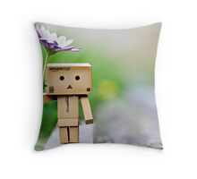 all prepared for a rainy day...  Throw Pillow