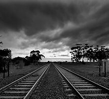 Tracks and Sleepers by Hans Kawitzki
