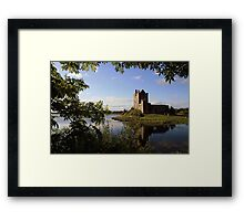 Summers eve at Dunguaire Castle Framed Print