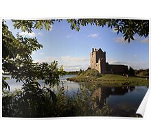 Summers eve at Dunguaire Castle Poster