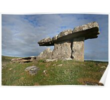Summers morning at Poulnabrone 2 Poster
