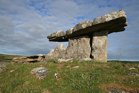 Summers morning at Poulnabrone 2 by John Quinn