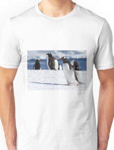Gentoo penguins (Pygoscelis papua). Antarctica Unisex T-Shirt