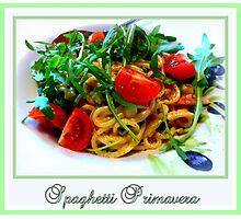 Spaghetti Primavera Photographic Print