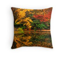 A feast for the senses at Alfred Nicholas Gardens Throw Pillow
