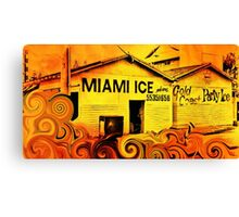 Miami Ice Canvas Print