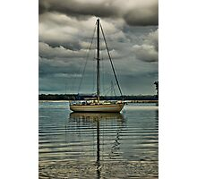 'Lone Sailor' Photographic Print