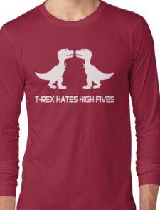 Style men's basic dark Funny Geek Nerd Long Sleeve T-Shirt