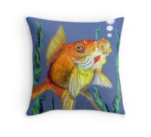 Fishy Tails Throw Pillow