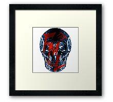 theFMLpodcast - Skull Logo Framed Print
