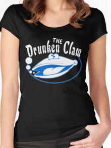 The drunken clam Funny Geek Nerd Women's Fitted Scoop T-Shirt