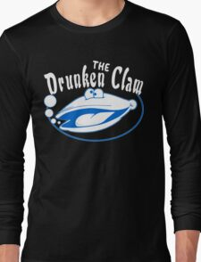 The drunken clam Funny Geek Nerd Long Sleeve T-Shirt
