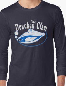 The drunken clam Funny Geek Nerd Long Sleeve T-Shirt