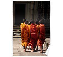 Angkor Buddha Poster