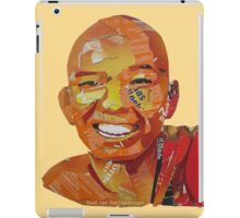 On the pad to enlightenment  iPad Case/Skin