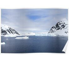 Neko Harbor is an inlet on the Antarctic Peninsula on Andvord Bay Poster