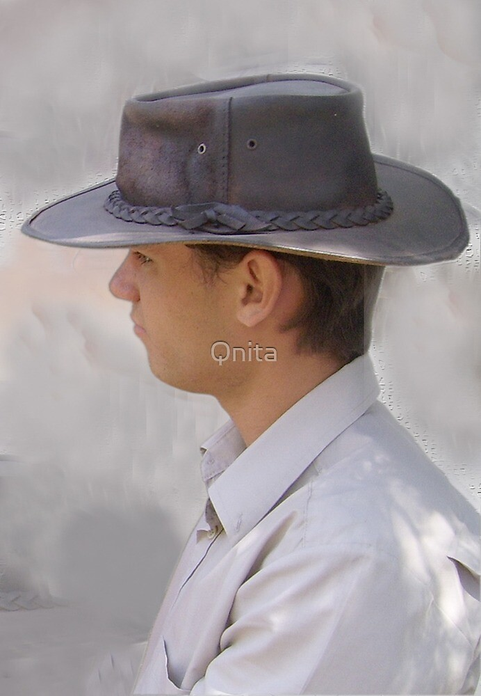 Young Cowboy - Brandfort, Free State, South Africa by Qnita