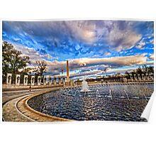 Washington Memorial Poster
