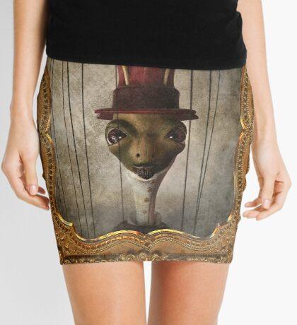 Sir Cricket's Portrait Mini Skirt