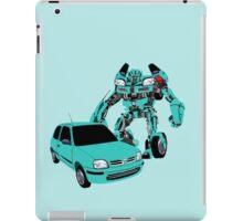 Nissan Micra Transformer iPad Case/Skin
