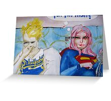 Heroes on the Couch II Greeting Card