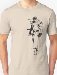 Ryu Portrait T-Shirt