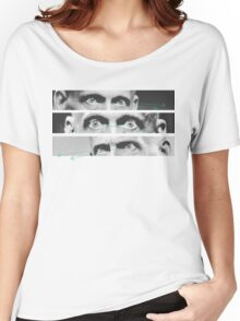 Collina, the eye  Women's Relaxed Fit T-Shirt