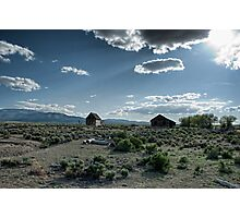 Desert Light Photographic Print