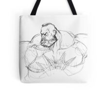 Zangief Portrait Tote Bag