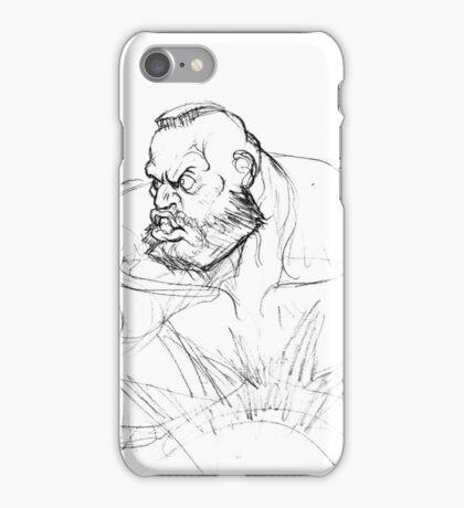 Zangief Portrait iPhone Case/Skin
