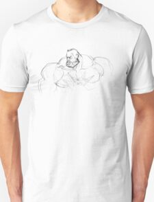 Zangief Portrait Unisex T-Shirt